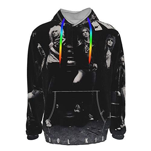 Euochengqus Kix Cool Kids Men's 3D Druck Hoodie Kapuzenpullover Langarm Pullover Sweatshirt L