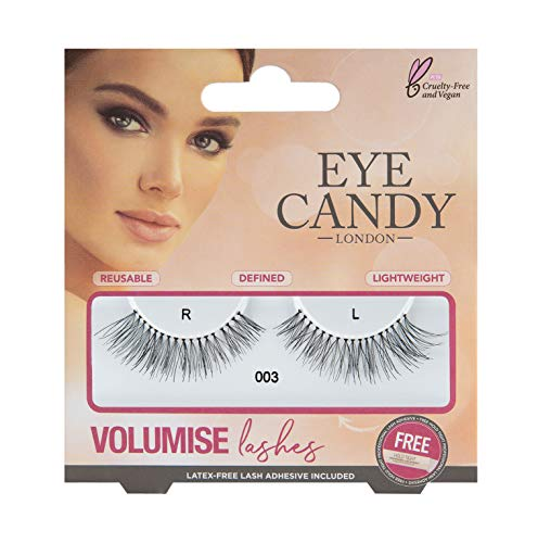 Eye Candy 003 Faux cils look naturel style 50's