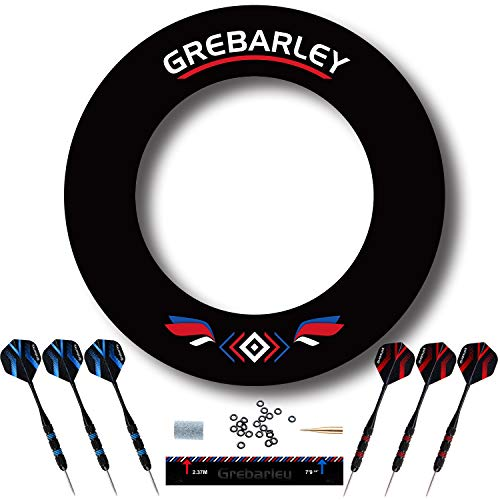 Grebarley Dart Catchring Surround Auffangring Dart Backboard Auffangring Rund Dart Surround Dartscheibe