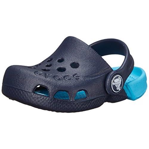 Crocs Electro, Zoccoli Unisex – Bambini, Blu (Navy/Electric Blue), 19-20 EU