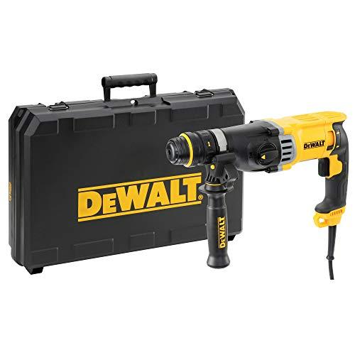 DEWALT D25144K-QS - Martillo ligero combinado 900W, 3 julios, 0-5.350 ipm