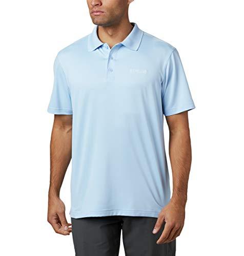 Columbia Herren Skiff Cast Poloshirt, Segel-Design, Größe XL