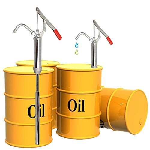 CCLIFE 300ml Ölfaßpumpe mit Hebel Handpumpe Hebelpumpe Hebelfasspumpe Fasspumpe KFZ