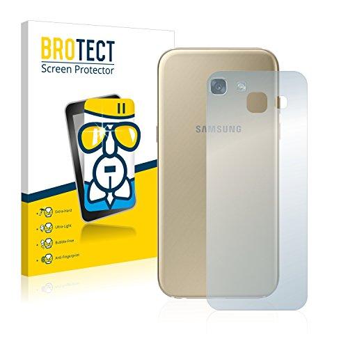 BROTECT Panzerglas Schutzfolie kompatibel mit Samsung Galaxy A5 2017 (Rückseite) - AirGlass, extrem Kratzfest, Anti-Fingerprint, Ultra-transparent