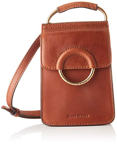 Marc O'Polo Damen Lorina CROSSBODY BAG S, Authentic Cognac, OS