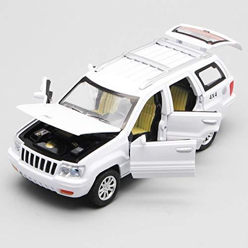Aleación 1/32 para Vehículo De Juguete Modelo Grand Cherokee, Luz De Sonido Extraíble con 6 Puertas Que Se Pueden Abrir Coche de Juguete (Color : 1)