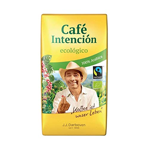 Darboven Bio Cafe Intencion gemahlen, 12er Pack (12 x 500 g)