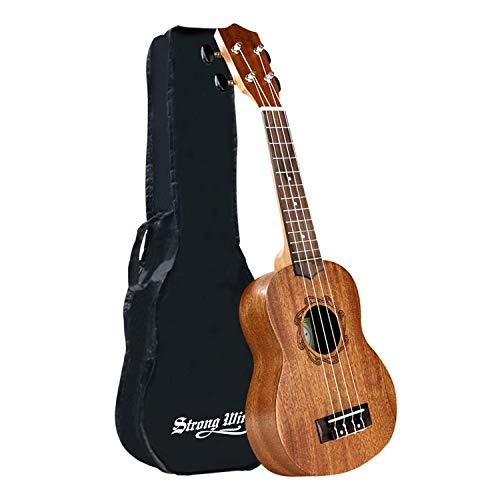 Concert Ukulele 23 Inch Mahogany Ukulele Starter Uke kids Guitar Kit for Kids Beginners Adults Student with Gig Bag