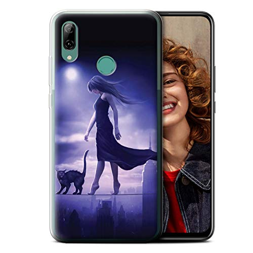 Elena Dudina telefoonhoesje/Cover/Skin/HUA-GC/Dark Magic Collection Huawei P Smart Z/Y9 Prime 2019 Sleepwalker/Insomia