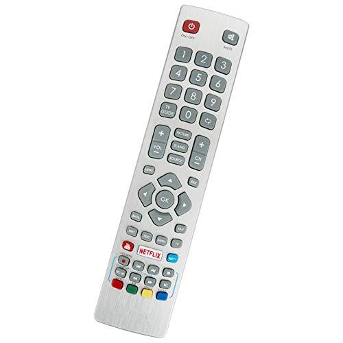 ALLIMITY Fernbedienung Ersetzen fit für Sharp Aquos Full HD TV LC-50UI7552E LC-43UI7552E LC-49UI7252E LC-40UI7252E LC-49UI7352E LC-50UI7252E LC-55UI7352E LC-40UI7452E LC-50UI7452E