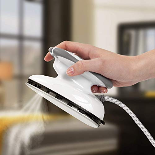 LIUCHANG Mini Plancha de Vapor, Mano pequeño compactos Ropa Vapor portátil vaporizador con Agua de Relleno Copa de Oficina en casa Dormitorio Viajes liuchang20