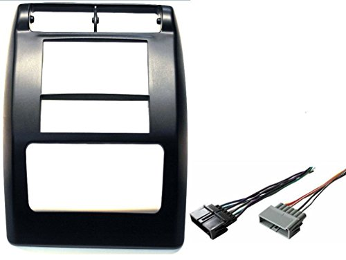 Aftermarket Double Din Radio Stereo Car Install Dash Kit Fits Jeep Wrangler 1997-2002