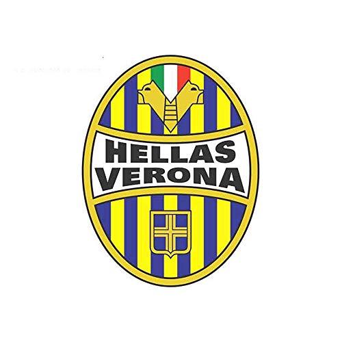 13 cm x 10 cm für Hellas Verona Auto LKW Pinup Geeignet für Rv Suv Sonnenschutz Auto Stoßstange Fenster Graffiti Aufkleber