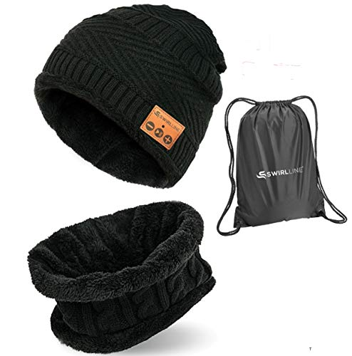 414AtG8d3rL - Upgraded Bluetooth Beanie Hat,