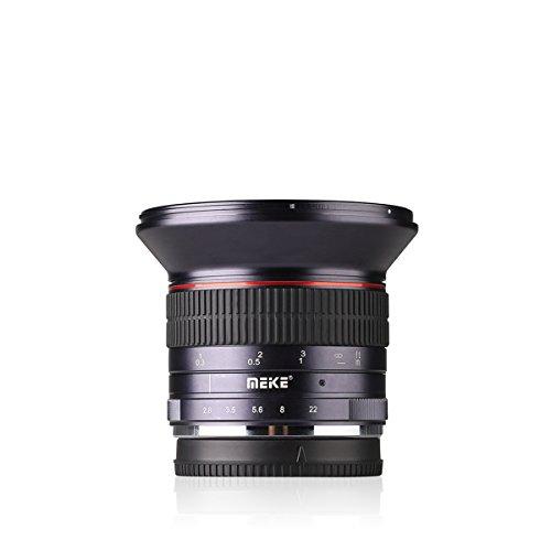 Meike MK 12 mm F/2,8 Ultra gran angular fijo lente de enfoque manual para Fuji X-Pro1 X-M1 X-Pro2 X-T2/20 x-tg1/10 X-A1/2 X-E1/2/3 APS-C de X-Mount sin espejo cámaras