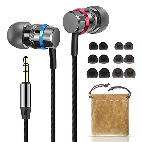 Auriculares ergonómicos intrauditivos Superme (Negro) Sonido dinámico y cristalino, Ajuste ergonómico y cómodo