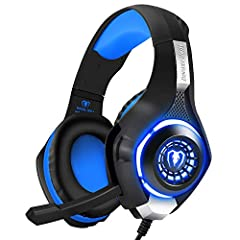 【Widely Compatible and Versatile 】This latest gaming headset is mainly designed for PS4 gamers, but you can also use it on Smart Phone / PC / iMac / Laptop / Tablet / PSP / New Xbox one. 【High Precision Magnetic Driver】Awesome surround sound, makes y...