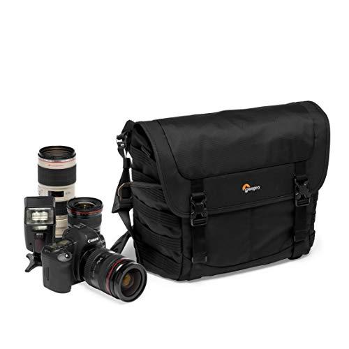 Lowepro ProTactic MG 160 AW II Umhängetasche für spiegellose/DSLR, QuickShelf Fachteiler für Foto- & persönliche Ausrüstung, z. B. für Sony Apha9, LP37266-PWW
