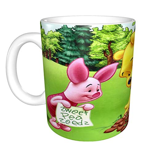 Winnie The Pooh - Taza de café para capuchino, café con leche...