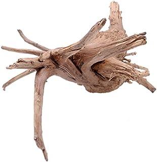 JAGETRADE Decoración para pecera de madera natural tronco de madera árbol de deriva acuario pecera planta