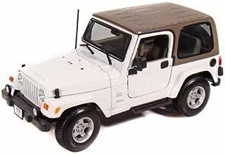 Jeep Wrangler Sahara 1/18 White