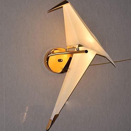 Einfache Kreative Nacht Vogel Vogel Papier Kran Wandlampe Schlafzimmer Wohnzimmer Gang Restaurant Hintergrund Wandlampen