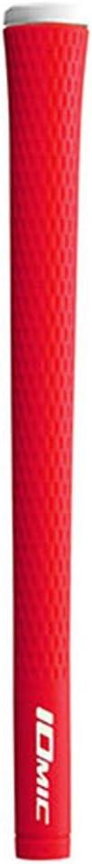 Iomic Golf Grip Max 86% OFF 2017 Red Round Sticky 2021 model Junior