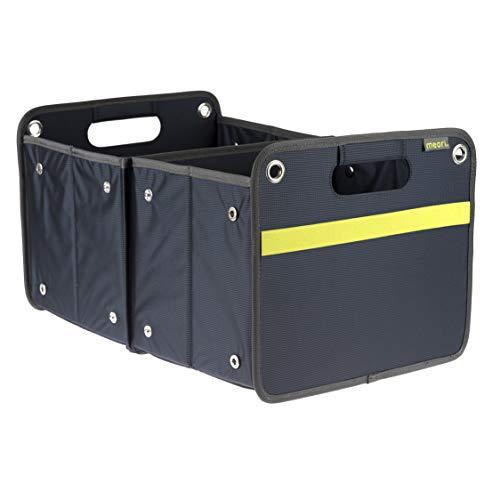 Meori caja de almacenaje plegable de transporte 30 kg - 50cm 32cm 27,5cm tamaño L
