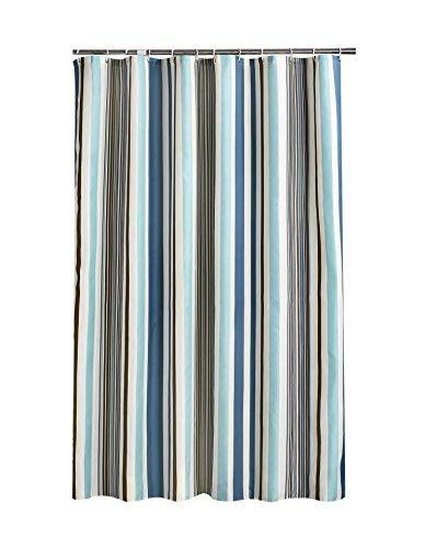 HuaForCity Cortina de Ducha Baño 200x240cm(Anchura x Altura) 100% Impermeable Resistente al Moho Lavable Durable Grande Poliéster Cortina de Baño No Olor Desagradable con Hebillas/Ganchos