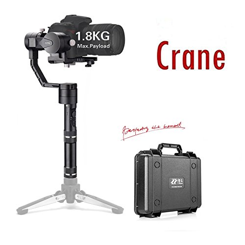 Zhiyun Crane V2 3-Axis Handheld Gimbal Stabilizer for DSLR Mirrorless Cameras up to 3.96 lbs,...