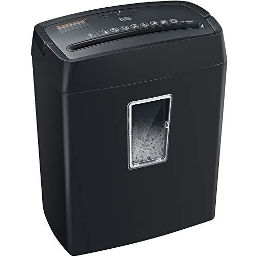 Cheapest Price! 8-Sheet Strip Cut Home Paper Shredder,Bonsaii CD and Credit Card Office Shredder Mac...