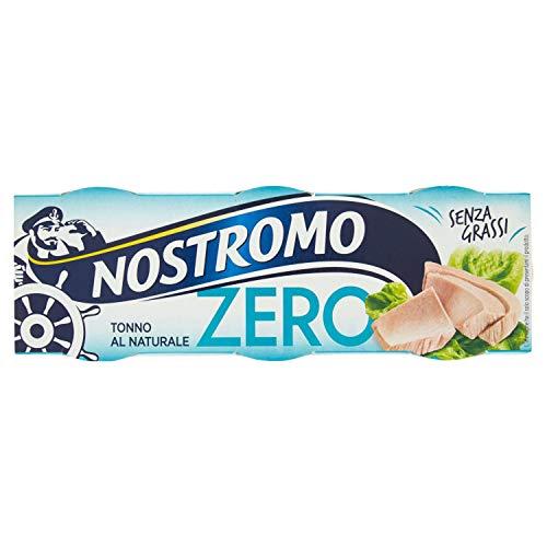 Nostromo Zero Tonno Al Naturale 3 Lattine - 190 Gr