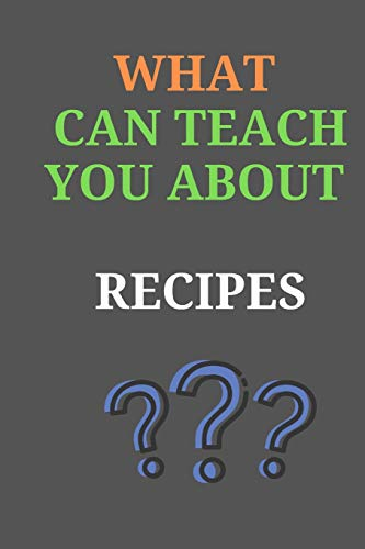 Lowest Prices! What Can Teach You About RECIPES: All Purpose  Recipes  6x9 Blank Lined Formated Coo...