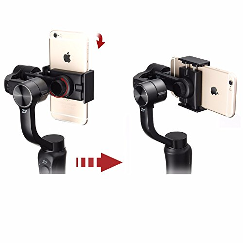 3-Axis Handheld Gimbal Stabilizer for Smartphone /& Gopro Hero 6 5 3 /& Xiaomi Yi action camera Wireless Control Vertical Shooting Panorama Mode 4