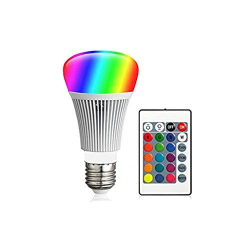 qingqingxiaowu Bombilla Discoteca Bombilla De Colores Bombilla E27 Que Cambia de Color Tornillo de Bombillas de Color Bombillas Led para iluminación del hogar 1pack