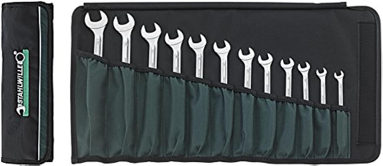 Stahlwille Ratschen Ringmaulschlüssel Satz OPEN RATCH; Textil Rolltasche; hohe hohe hohe Biegefestigkeit; 12-tlg - 96411712 B00LPDNOWW | Modern  53ca76