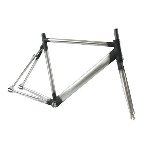 RIDEWILL BIKE Kit Telaio Scatto Fisso Pista Taglia 54 Alluminio Tubi Strada (Scatto Fisso) / Fixed frameset Track crono Size 54 Aluminium Road Tubes (Fixed Frames)