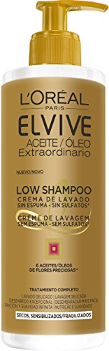 L'Oreal Paris Elvive Champú Low Shampoo Cabello Seco - 400 ml