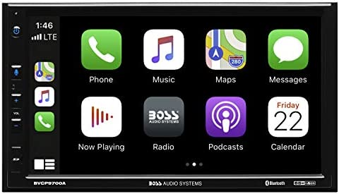 BOSS Audio Systems BVCP9700A Apple CarPlay Android Auto Car Multimedia Player Double Din 7 Inch product image
