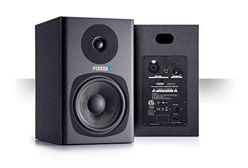 'Fostex pm0.5db Monitor de estudio profesional de 5amplificado de 2Vías, 35y 18W, Negro