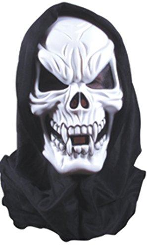 Rubies Máscara Esqueleto con Capucha