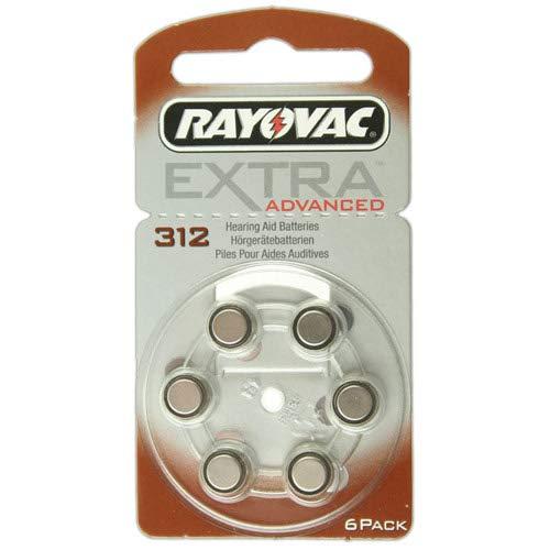 Rayovac Extra Advanced H312, 6Stück