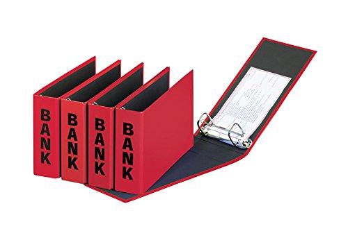 Pagna Bankordner Basic Colors (Ordner Kontoauszüge)  rot