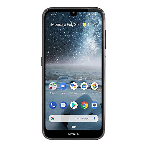Nokia 4.2 - Android One (Pie) - 32 GB - 13+2 MP Dual Camera - Dual SIM Unlocked Smartphone...