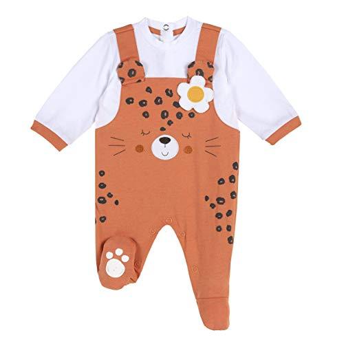 Chicco Tutina con Apertura entrogamba Mamelucos para bebés y niños pequeños, 046, 62 cm Unisex bebé