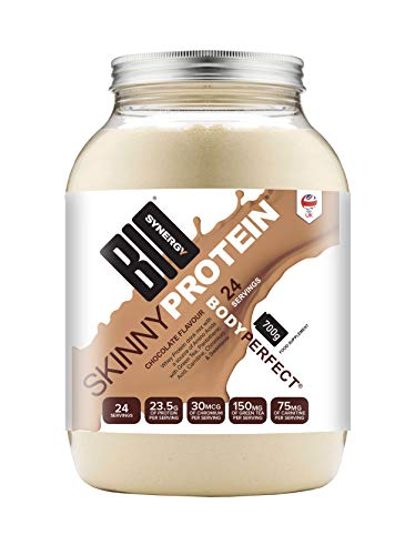 Bio-Synergy Skinny Protein. Low-Calorie Diet Whey Protein Powder. 700g (24 Servings), Chocolate Flavour