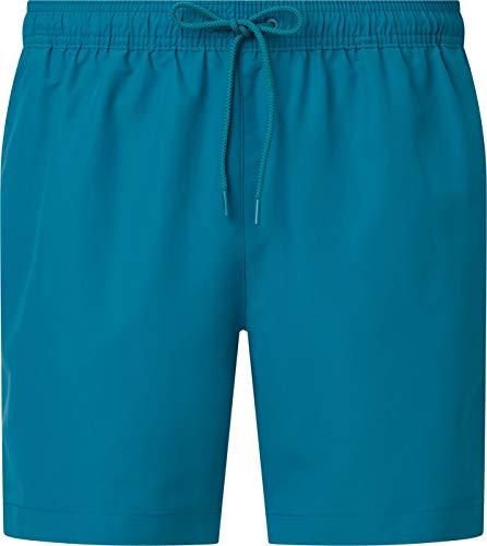 Calvin Klein Medium Drawstring Costume a Pantaloncino, Seans Teal, S Uomo