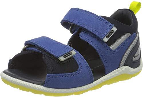 Ecco Baby Jungen BIOMMINISANDAL Sandalen, Blau (Mazarine Blue 2071), 24 EU