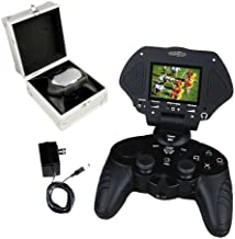 Playstation 2 Controller and Game Screen
