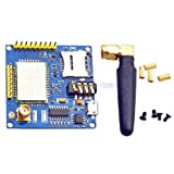 1Set A6 GSM GPRS Module TTL RS232 Serial Core Development Board with Antenna GPRS Text Wireless Data Transmission Replace SIM900